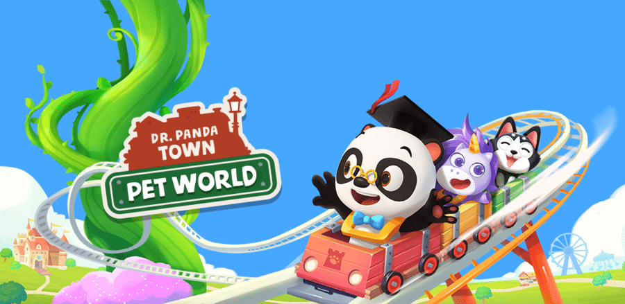 Dr. Pandatown graphic
