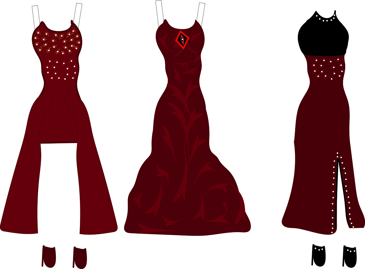 More paper doll clothes!