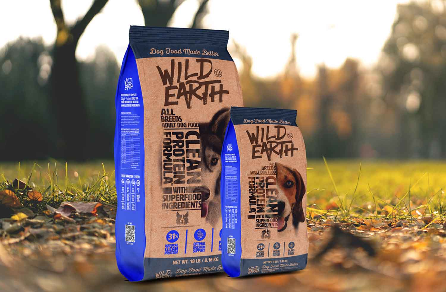 Startup launches high-protein, meat-free dog food