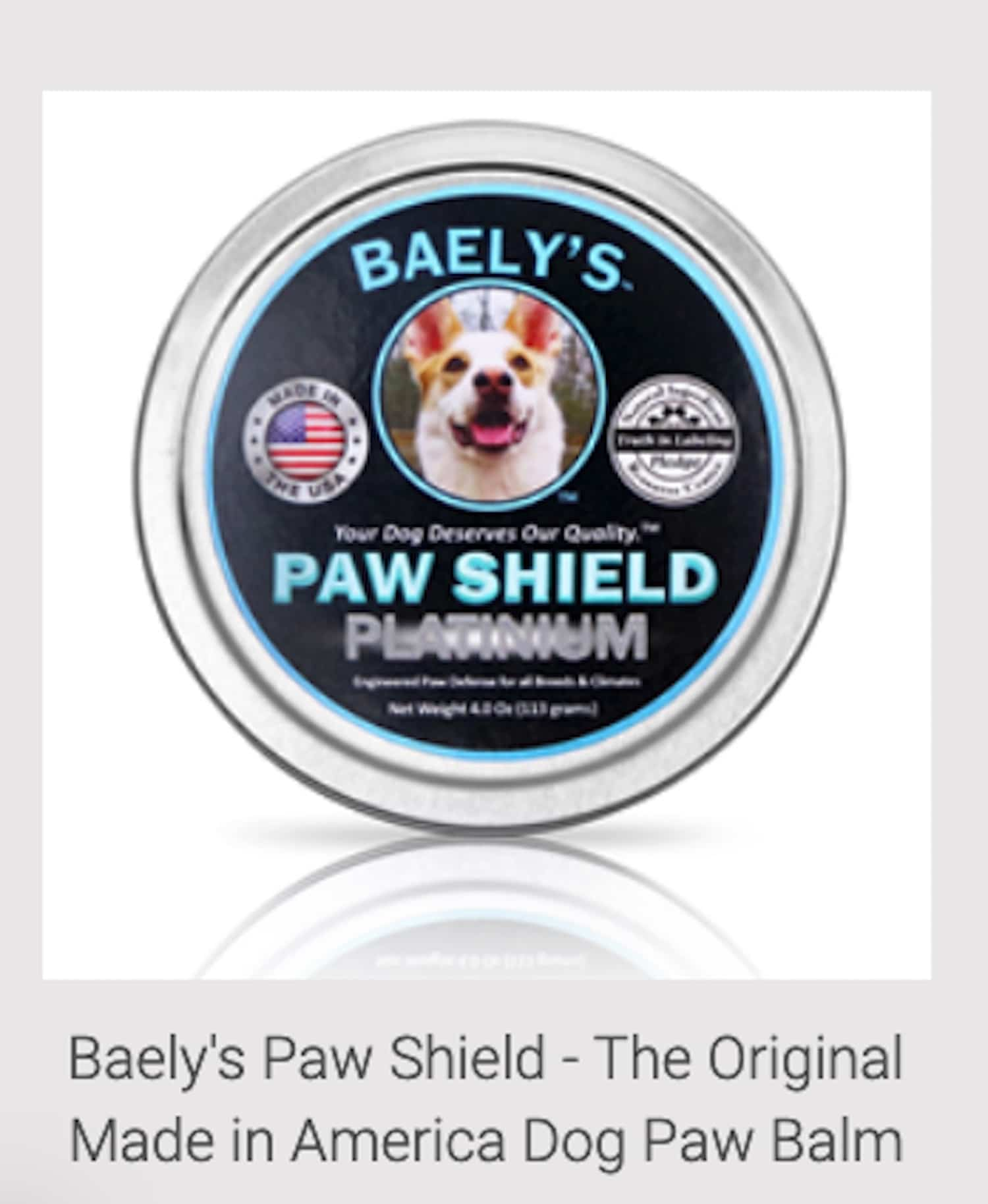 Protecting pups' paws; Baely's Paw Shield® Announces Nationwide Free Shipping with No Minimum Order
