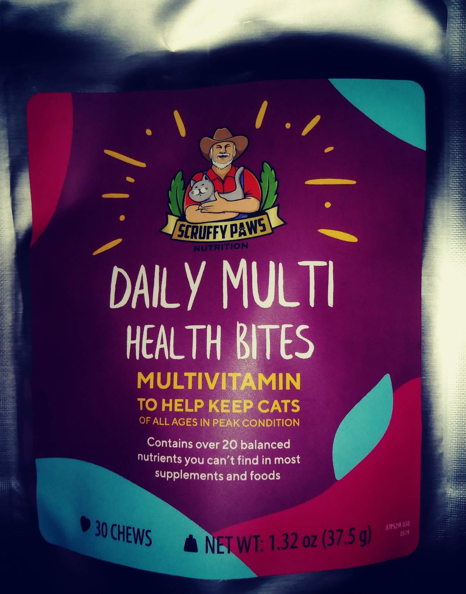 Review of Scruffy Paws Daily Multi Vitamins